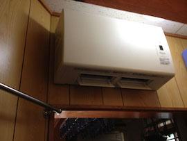 室内用の暖房乾燥機
